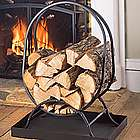 Small Oval Firewood Rack