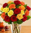 18 Autumn Roses Bouquet
