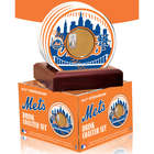 New York Mets Coasters with Game Used Dirt