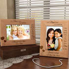 Personalized A Mom's Love Wooden Picture Frame