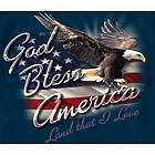 God Bless America Blue T-Shirt
