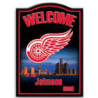 NHL Detroit Red Wings Personalized Welcome Sign
