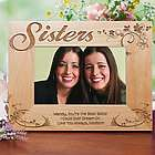 Personalized Sisters Picture Frame