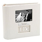 Personalized 'I Do' Wedding Photo Album