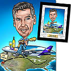 Farewell / Going Away Custom Caricature Art