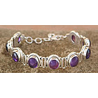 Perfect Plums Amethyst Bracelet