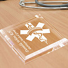 Personalized Nurse Keepsake & Paperweight