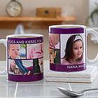 Picture Perfect Personalized Five Photo Mug