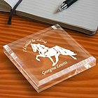 Personalized Cowboy Keepsake Paperweight