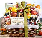 Ultimate Fresh Fruit, Sweet & Savory Selection Gift Basket