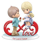 Precious Moments Personalized Infinite Love Figurine
