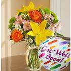 Fields of Europe Get Well Floral Bouquet