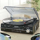 Digital Turntable with AM/FM Stereo