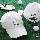 Golf Fan Personalized White Sports Cap