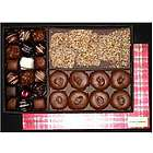 Three Cheers Holiday Chocolates Gift Box