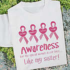 Breast Cancer Awareness for the Special Women Shirt