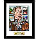 Corporate Award Fully Custom Caricature