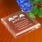 Personalized Home Sweet Home Paperweight