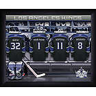 Personalized Los Angeles Kings Locker Room Print
