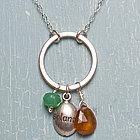 Balance Charm Necklace