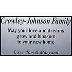 Aluminum Personalized Plaque