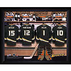 Personalized Anaheim Ducks Locker Room Print