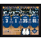 Personalized Toronto Maple Leafs Locker Room Print