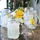 Old Fashioned Drinking Jars Set