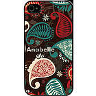 Personalized Paisley Case for iPhone