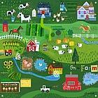 On the Farm Mural Banner