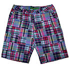 Ladies Truro Creek Madras Patchwork Bermuda Shorts