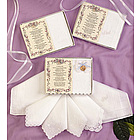 To My Bridesmaid Handkerchief