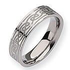 Mens Titanium Promise Ring