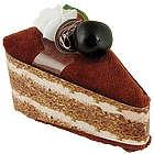 Chocolate Cherry Towel Cake Favor