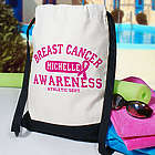Breast Cancer Awareness Athletic Dept. Sports Bag
