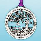"""When Someone You Love Becomes A Memory"" Ornament"