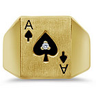 Men's Ace of Spades Gents Ring