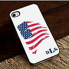 Proud to Be an American iPhone Case with Black Trim