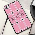 Perky Pink iPhone Case with Black Trim