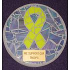 Yellow Ribbon Stepping Stone