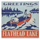 Personalized Lake Greetings Sign