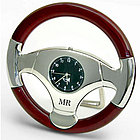 Personalized Steering Wheel Clock