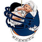Personalized Denver Broncos Baby's First Christmas Ornament