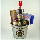 Boston Bruins Pail Gift Set
