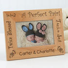 Perfect Pair Personalized Twins Frame