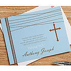 Personalized God Bless Baby Thank You Cards
