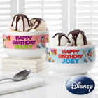 Personalized Disney Birthday Bowl