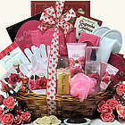Rose Spa Haven Valetine's Day Bath & Body Gift Basket