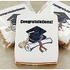 Cap and Diploma Photo Cookies