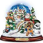 Rudolph the Red-Nosed Reindeer Illuminated Musical Snowglobe